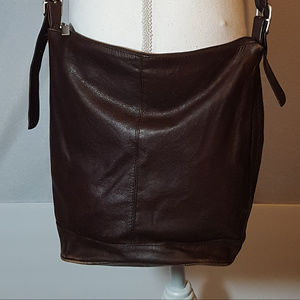 Wilsons, Brown Leather Vintage Purse